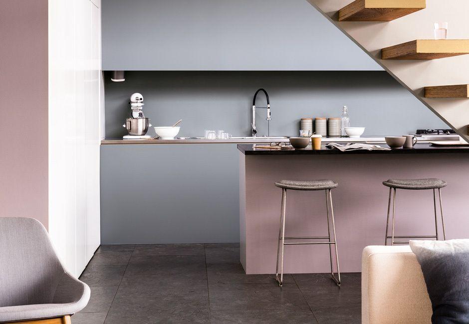 Wandfarben - die Pantone Farbe 2015 | Grau, Pink und Küchen