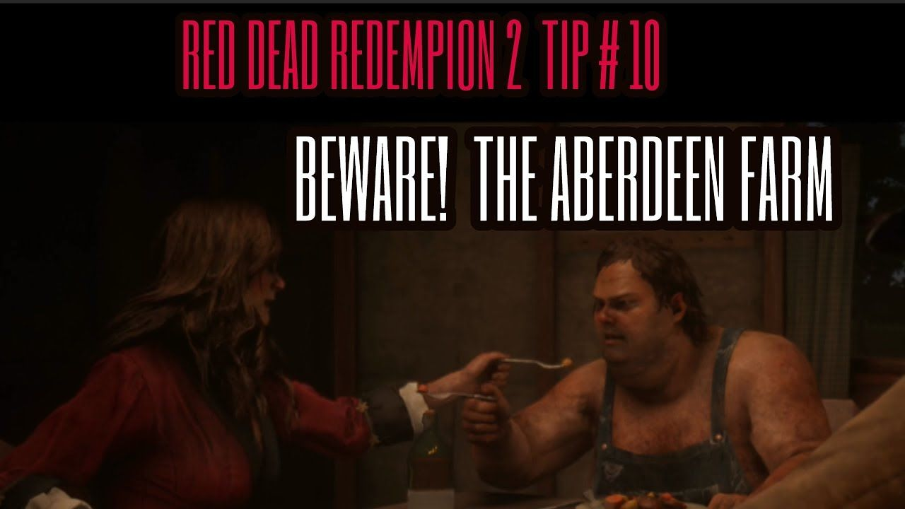Red Dead Redemption 2 Tip 10 Beware The Aberdeen Pig Farm Red Dead Redemption Pig Farming Redemption