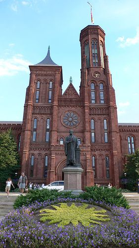Smithsonian Institute - Washington, DC. Want to visit this and all the Smithsonian museums.