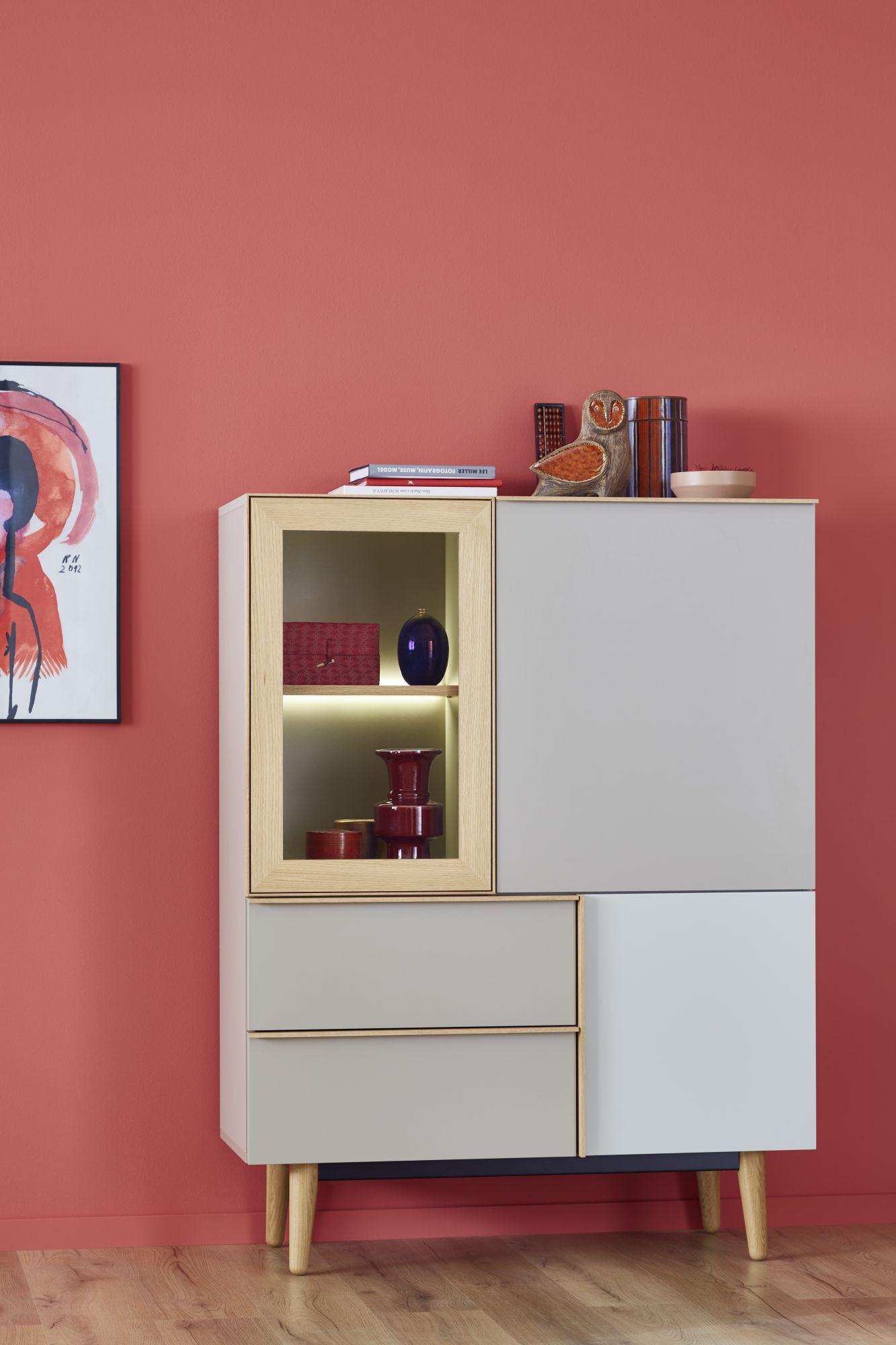 Schöner Wohnen Kollektion Highboard Patchwork Loft Style Moderne