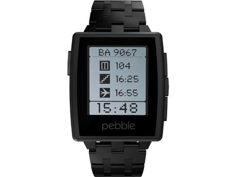 294e76c0091 Pebble Steel - Smart Watch