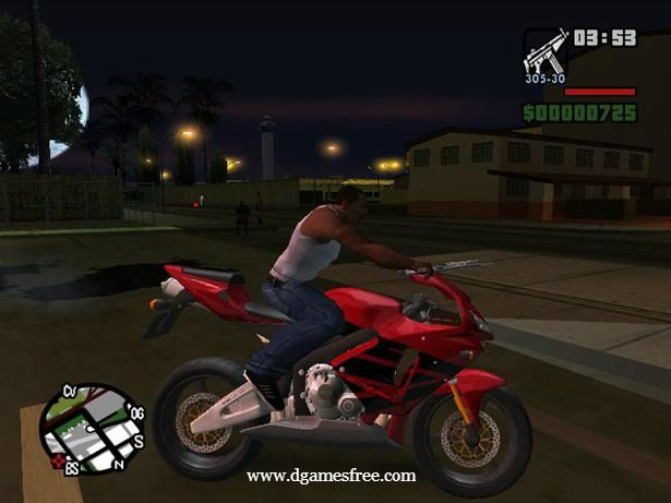 Download Grand Theft Auto San Andreas Game Full Version Free