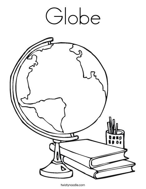 Globe Coloring Page Earth Day Coloring Pages Earth Coloring Pages I Love My Teacher