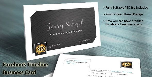 Facebook timeline business card template design now you can have facebook timeline business card template design now you can have your business cards to match fbccfo