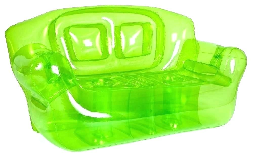 Neon Inflatable Couch 90s Party Decor Inflatable Couch