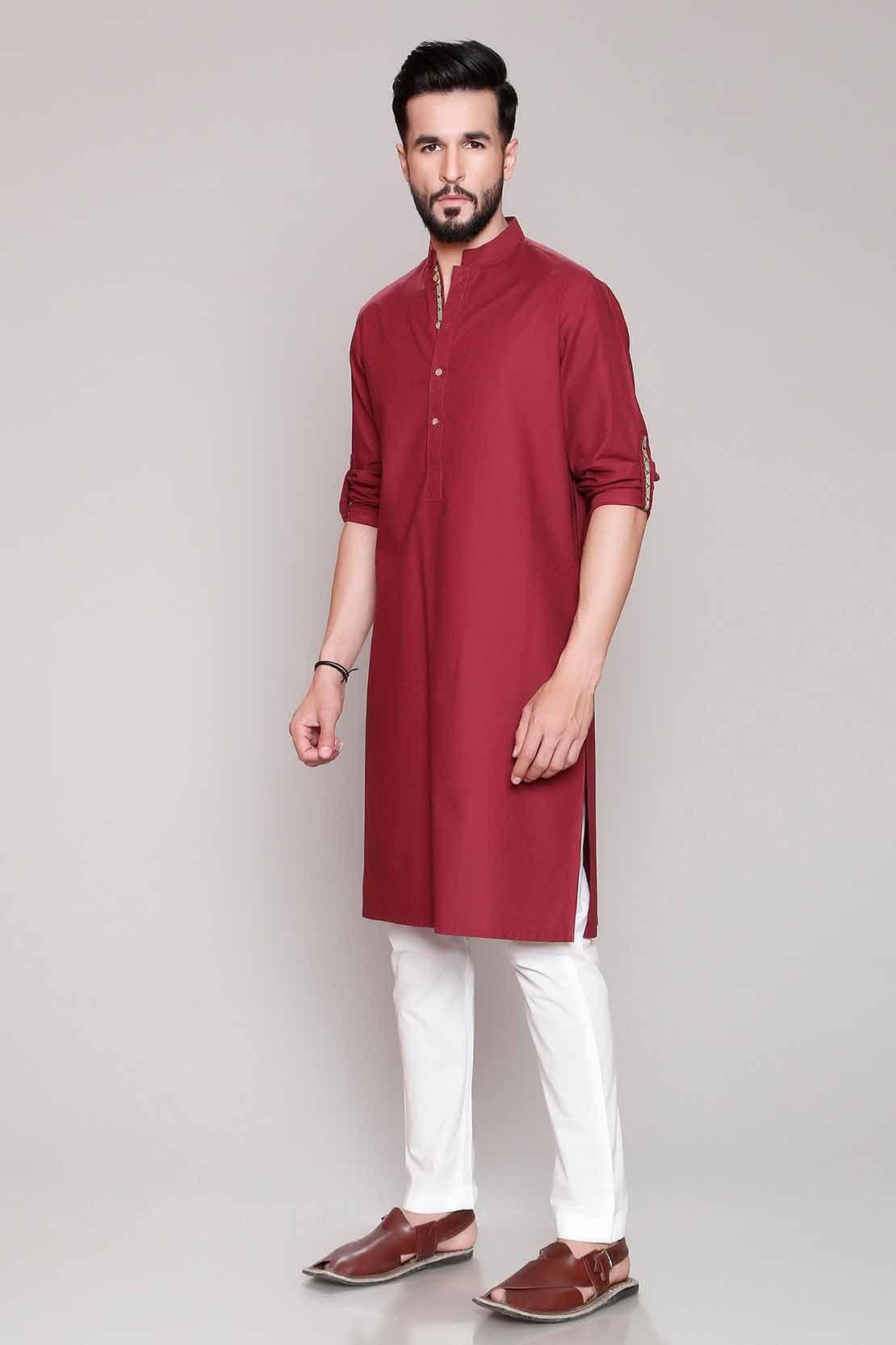3b46bce457 Latest Eid Men Kurta Shalwar Kameez Designs New Collection 2019-2020 ...