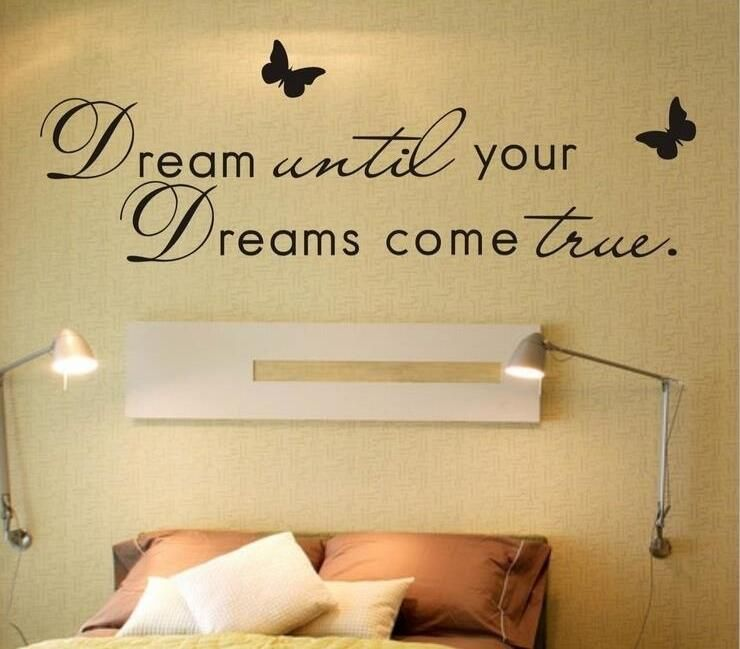 Diy Letter Dreams Poem Wall Sticker Living Room Quotes Vinyl Bedroom Decoracion Kids Butterfly Wal Home Decor Quotes Butterfly Wall Decals Vinyl Wall Quotes #wall #decals #quotes #living #room