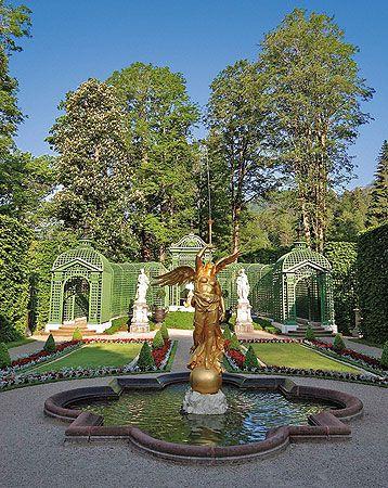 Bayerische Schlosserverwaltung Schlossanlage Linderhof Park Rundgang Beautiful Pictures Linderhof Palace Place Of Worship