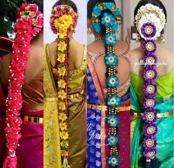 Wedding Hairstyle In Tamil: Indian Bridal Hairstyles, Indian Bride