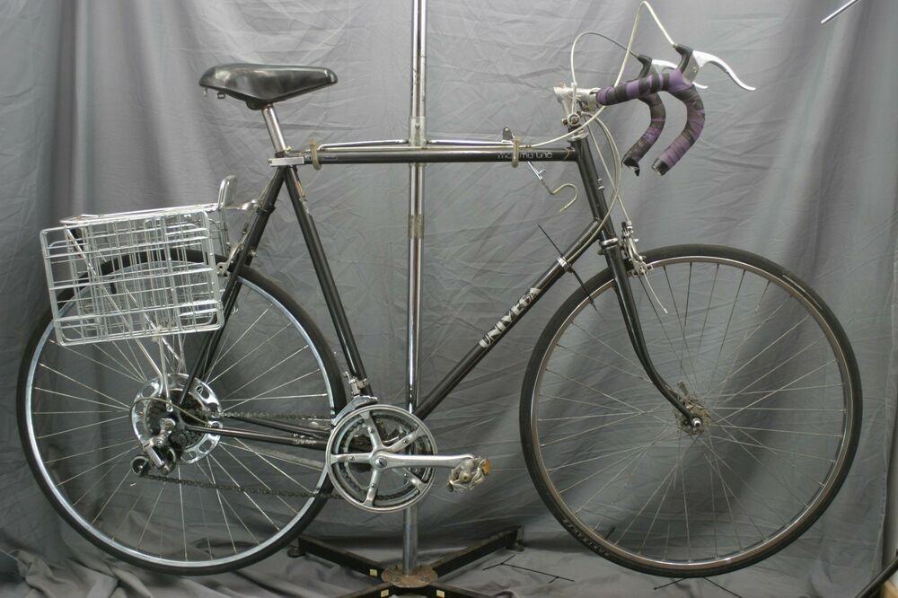 bfb61e5c03d Univega Maxima Uno Vintage Road Bike Touring Steel Lugged XX Large Mafac  Charity #Univega