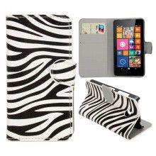 Capa Livro Nokia Lumia 630 - 635 Design Animais Zebra 1 8,99 €