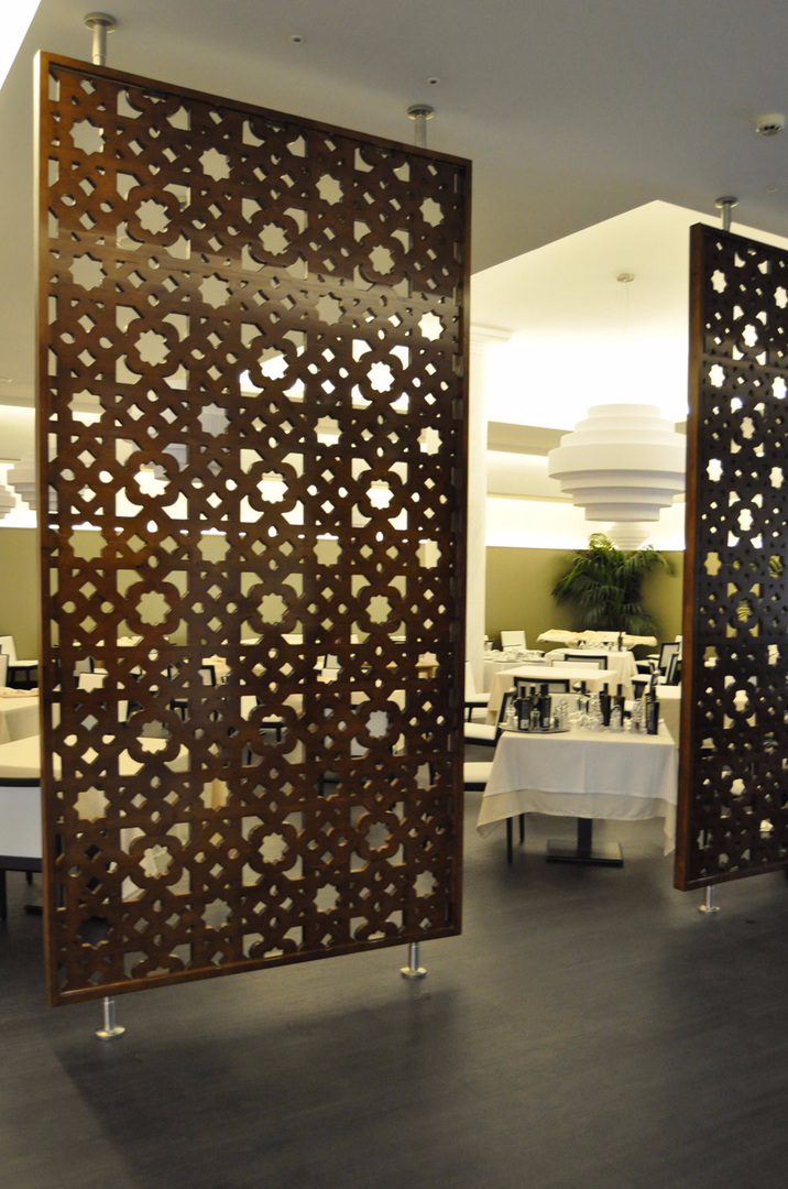 Paneles de celosias celosias decorativas modernas for Celosias para interiores