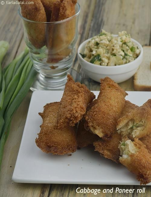 Cabbage and paneer rolls recipe rolls recipe cabbage and rolls forumfinder Images