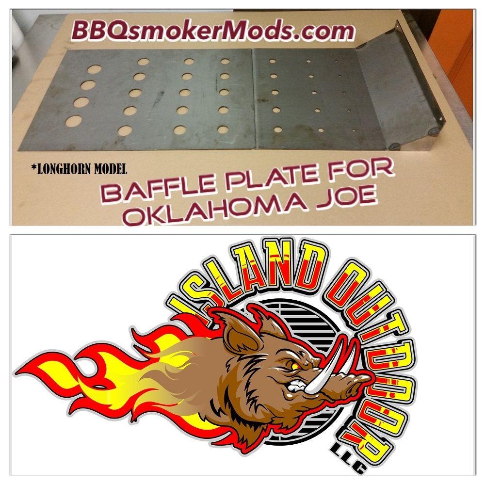 Oklahoma Joe LONGHORN Horizontal Baffle Plate (Heat Deflector Tuning