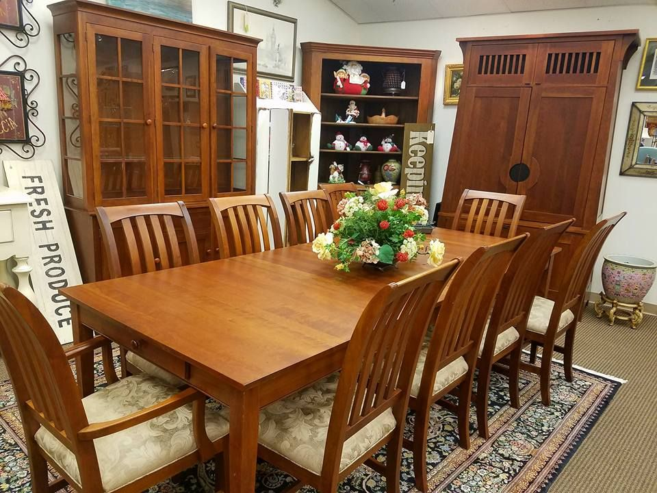 This Ethan Allen American Impressions Collection Made Of Solid