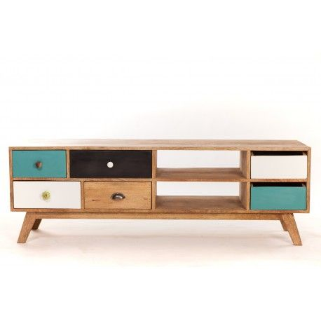 Meuble tv bas design scandinave | Meubles & Déco | Pinterest ...