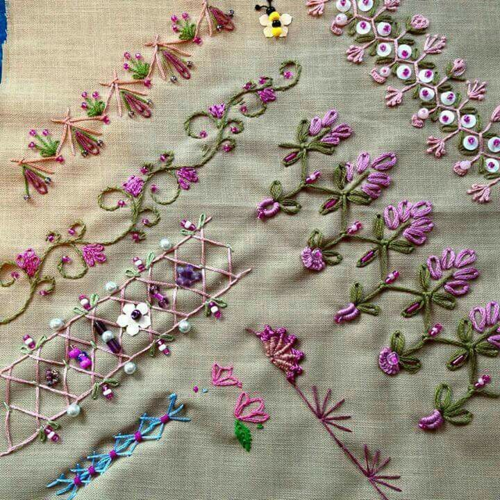 Stitches For Crazy Quilts Crazy Qilting Pinterest Stitch