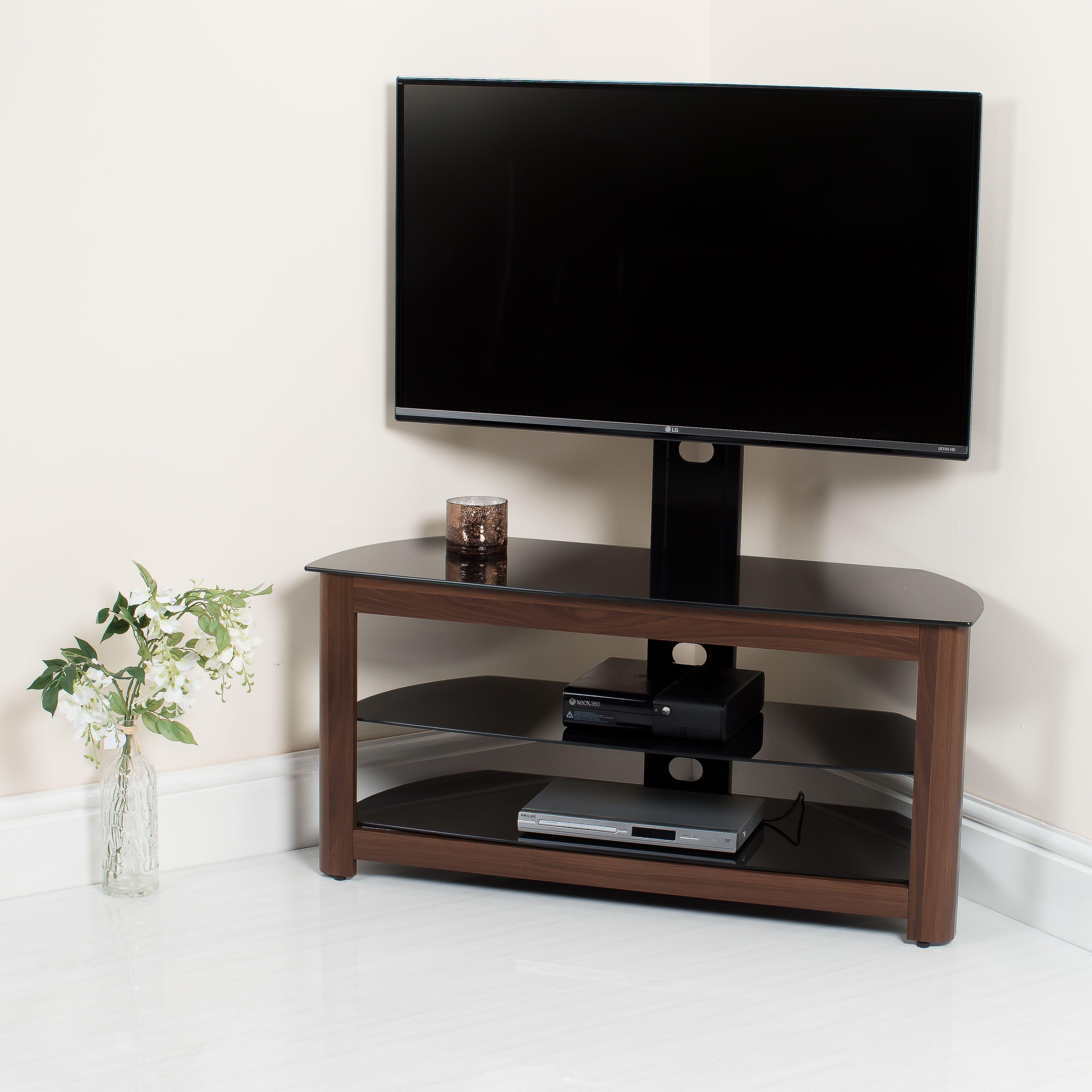 Walnut Framed TV Stand http//abreo.co.uk/ Modern Gloss