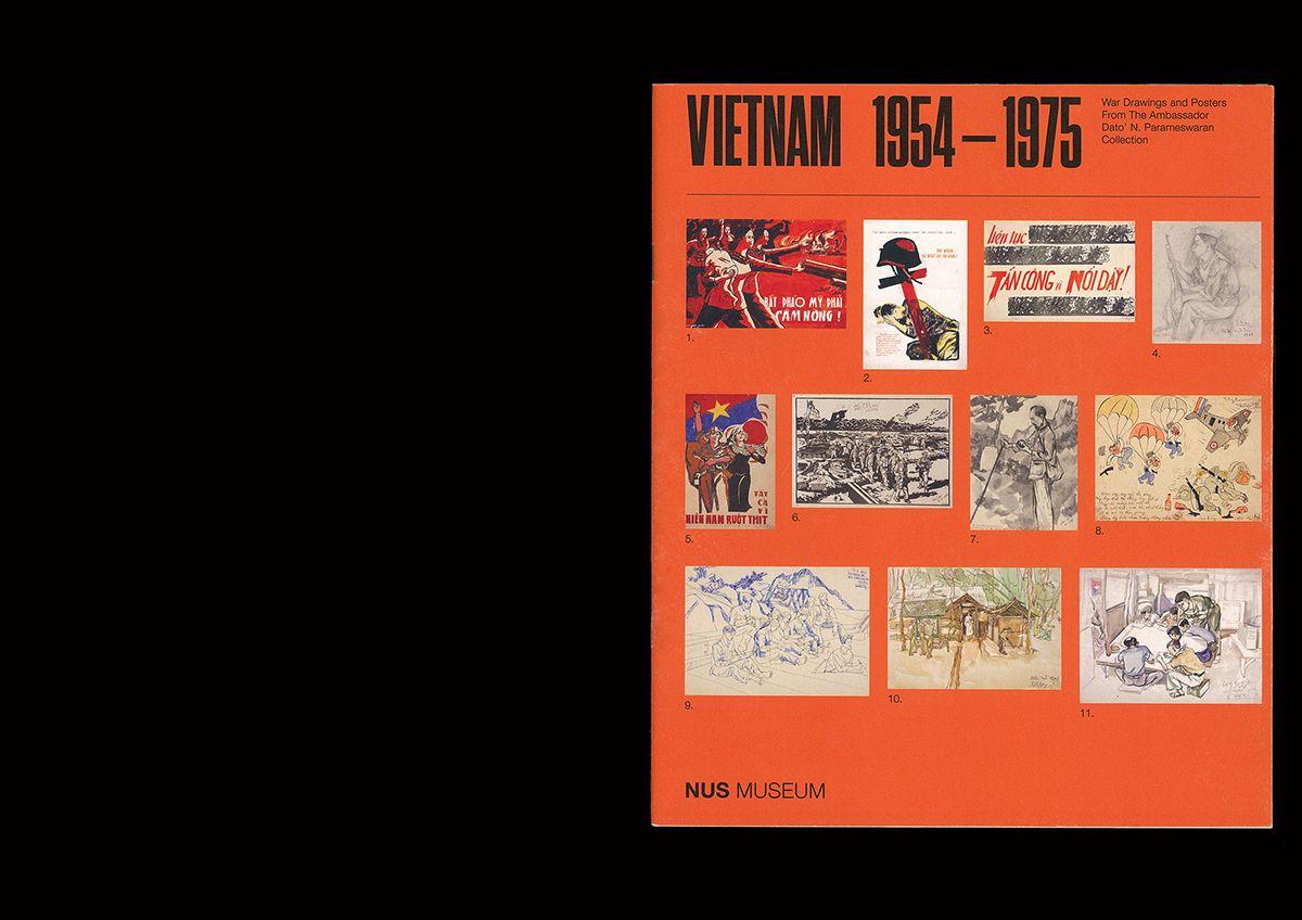 Vietnam 1954–1975, Exhibition booklet on Behance