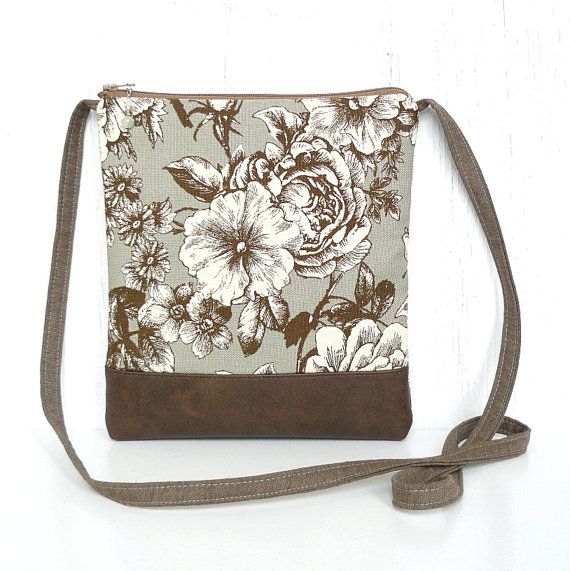 This vintage-inspired crossbody bag from Viridian is the ideal accessory when youre out & about and need a secure zippered purse, but want the