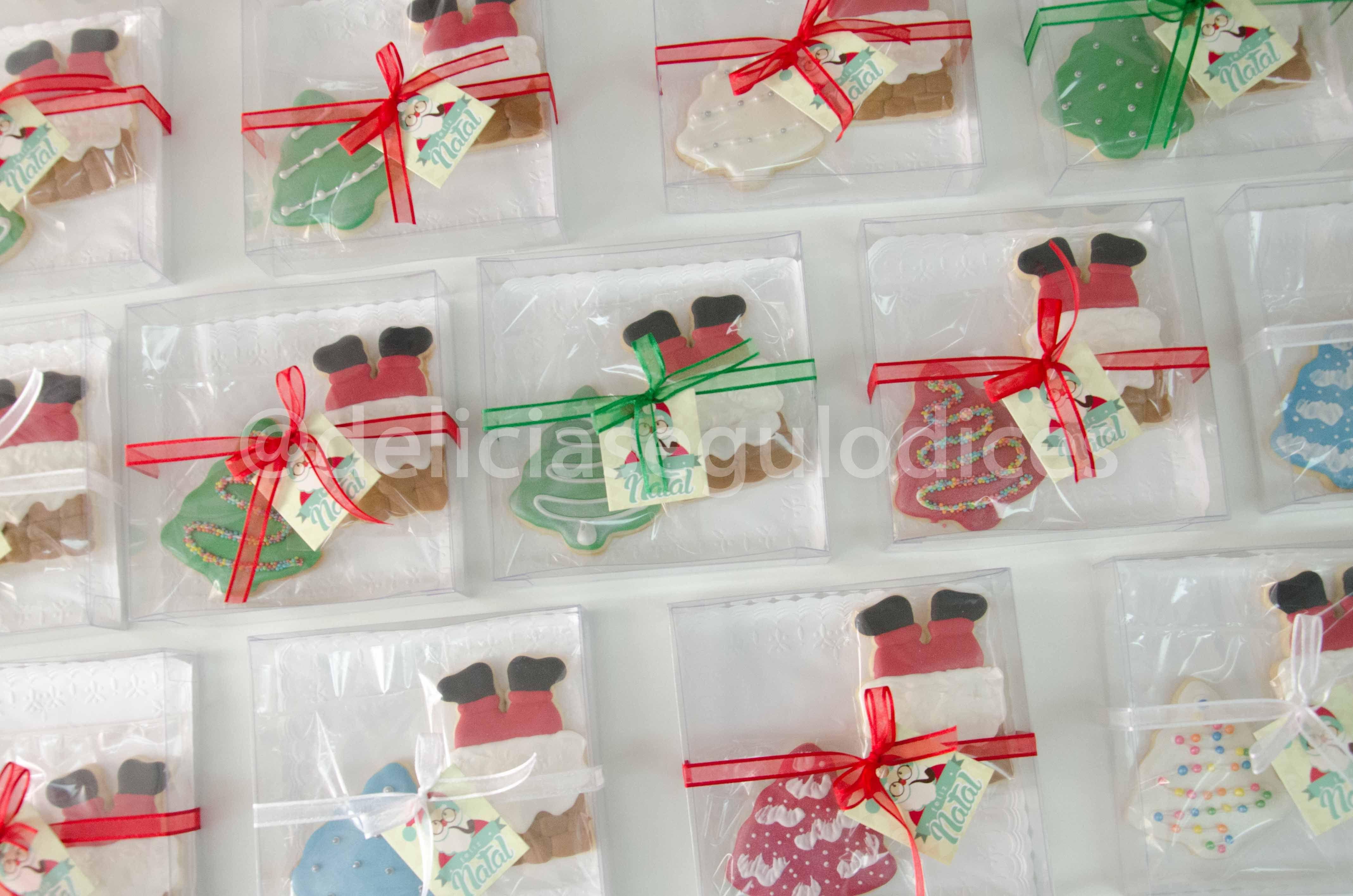 Biscoitos para Presente Natal