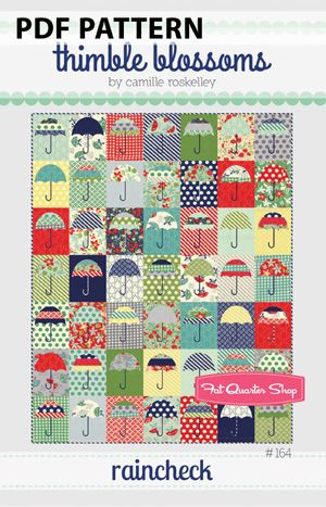 Rain Check featuring April Showers by Bonnie & Camille   Sew