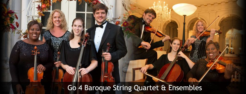 Wedding Party String Quartets Duos Trios In Detroit Mi Go4baroque