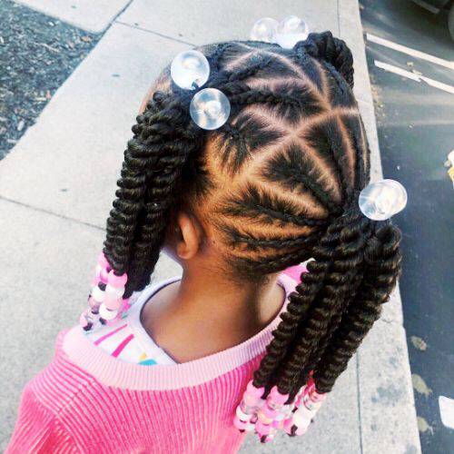 Cute Hairstyles For Black Girls 29 Hairstyles For Black Girls Curly Craze Lil Girl Hairstyles Kids Hairstyles Hair Styles