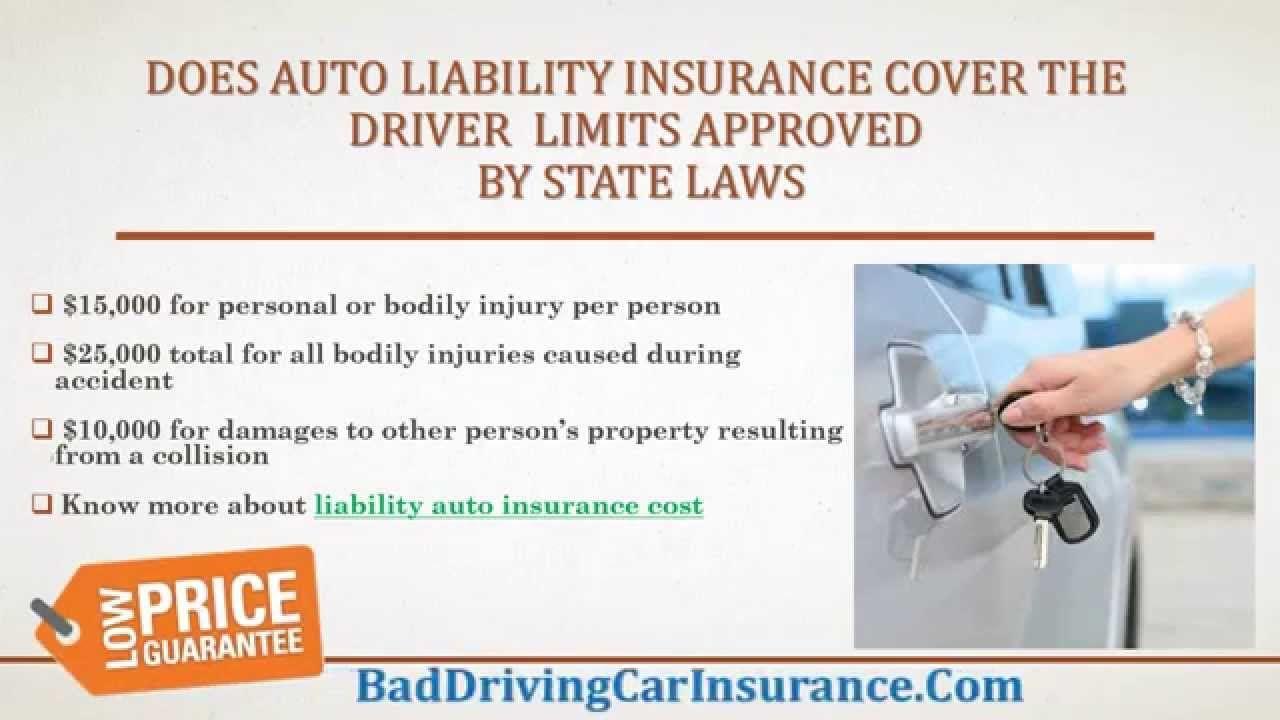 what does liability car insurance do Car insurance