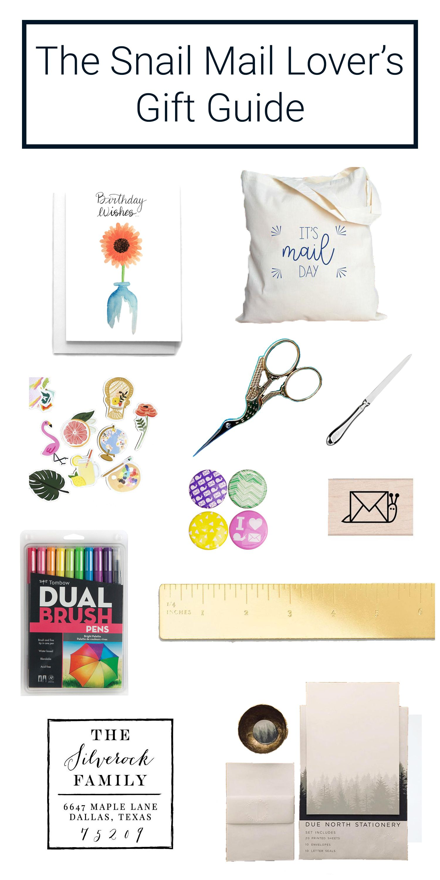 Cafe Notes Company Snail Mail Lovers Gift Guide Looking For The Perfect Someone You Know Who Loves To Give And Receive