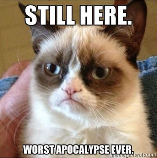 Worst apocalypse ever. No zombies or anything!