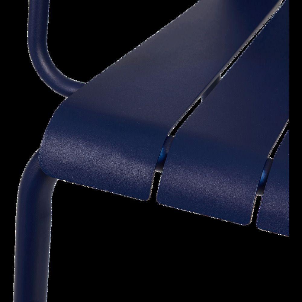 Fauteuil De Jardin En Aluminium Bleu Figuerolles Alinea En