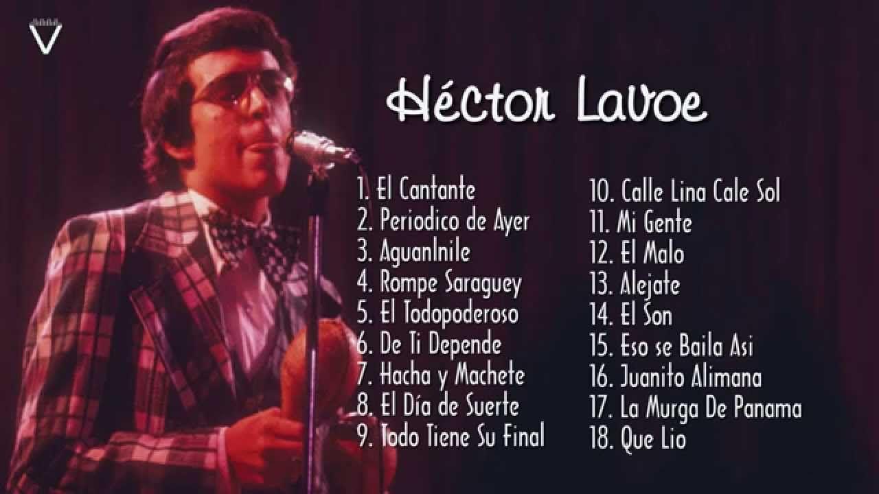 Héctor Lavoe Sus Mejores Éxitos Música latina, Musica