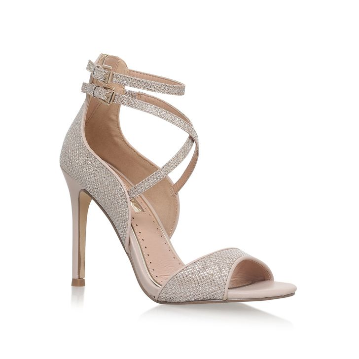 **High Heel Sandals by Miss KG | Gold high heels, Occasion
