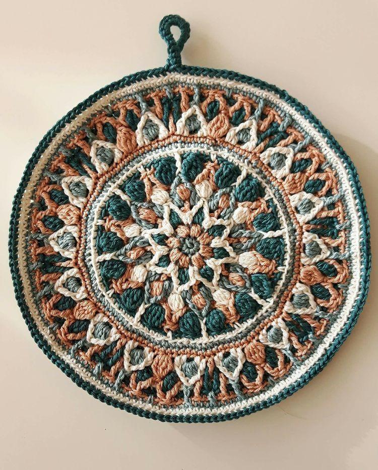 99cea48a4f8 Spanish Mandala | haken mandala - Crochet mandala, Crochet patterns ...