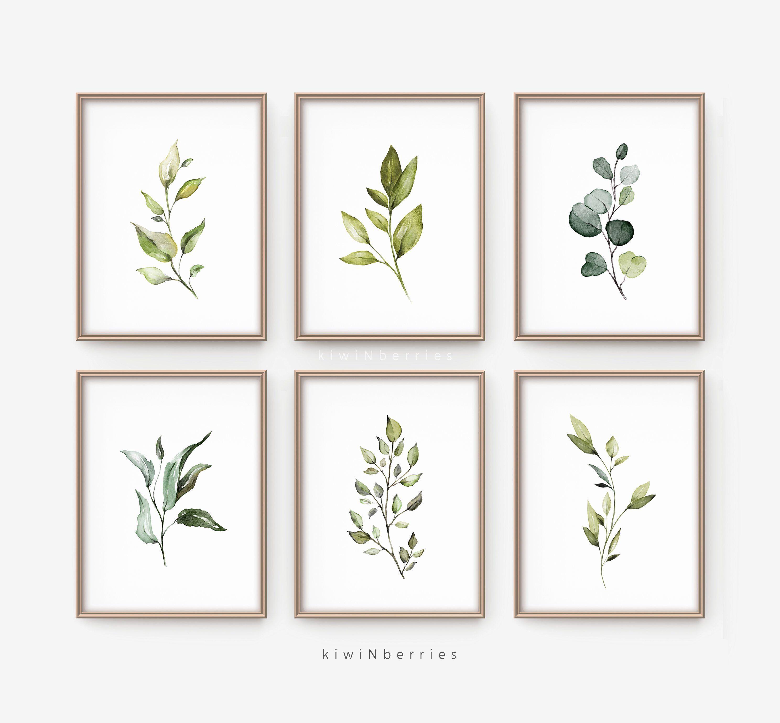 Botanical Print Set Printable Wall Art