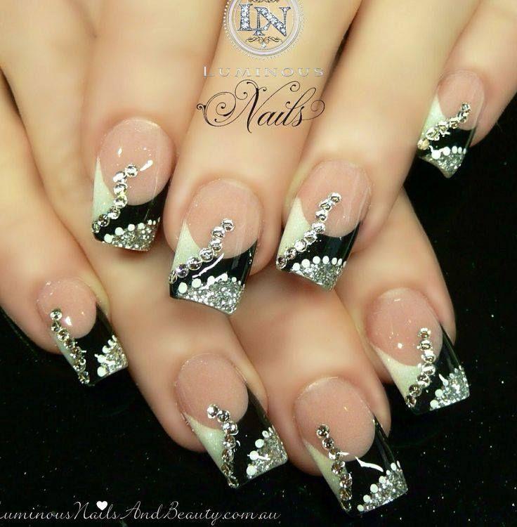 French Tip Acrylic Nail Designs 2013 Papillon Day Spa