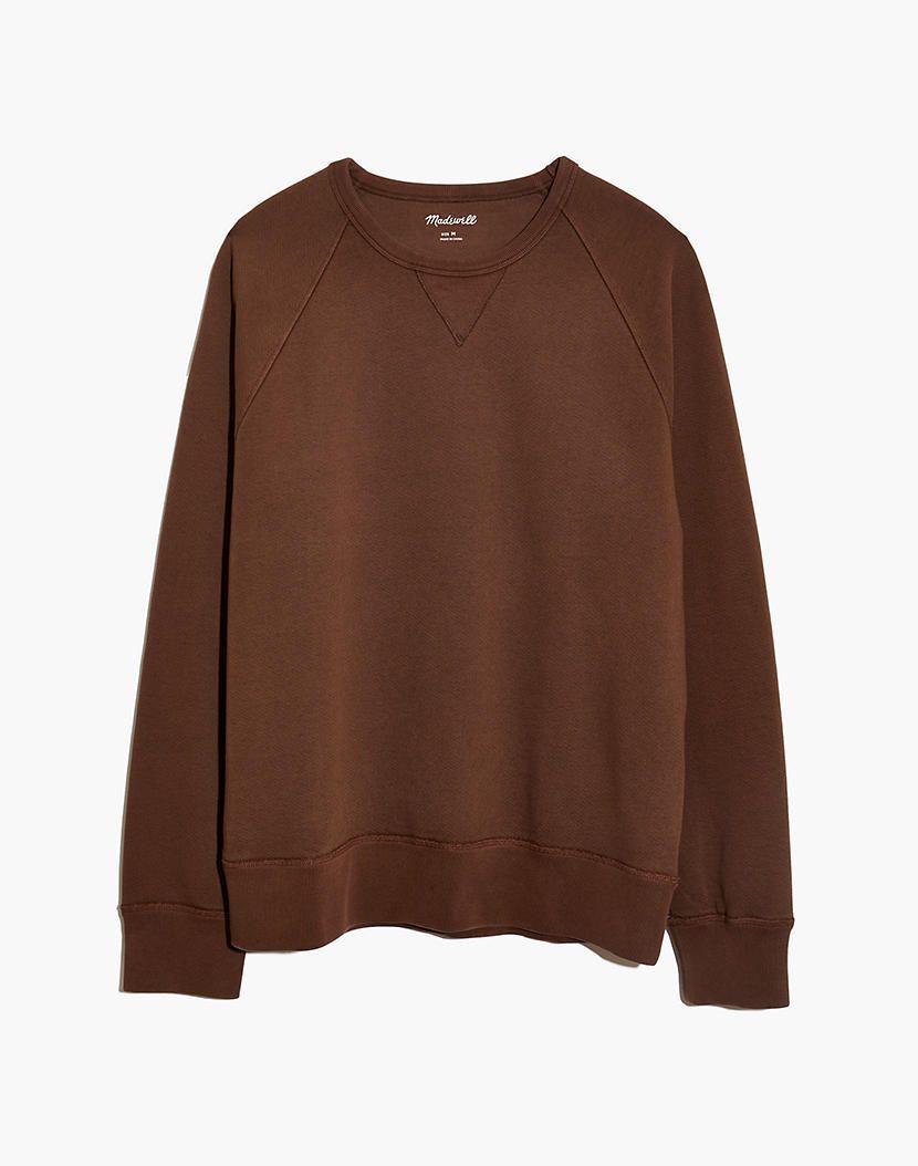 Men S Garment Dyed Crewneck Sweatshirt Garment Dye Crew Neck Sweatshirt Sweatshirts [ 1054 x 830 Pixel ]