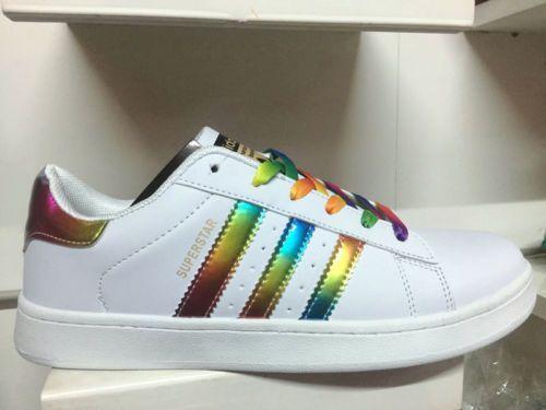 adidas donna superstar arcobaleno