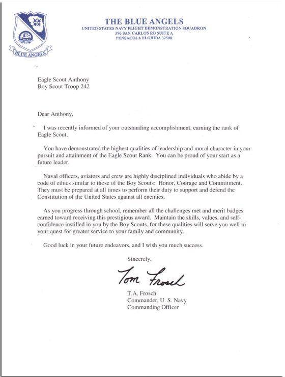 Angels Buddyu0027s Eagle Project Pinterest Homer hickam, Eagle - eagle scout recommendation letter sample