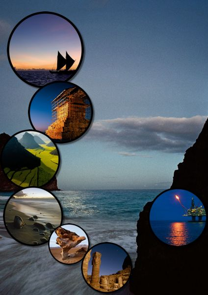 May You Like This Creative Collage Layout Template For Your Happy