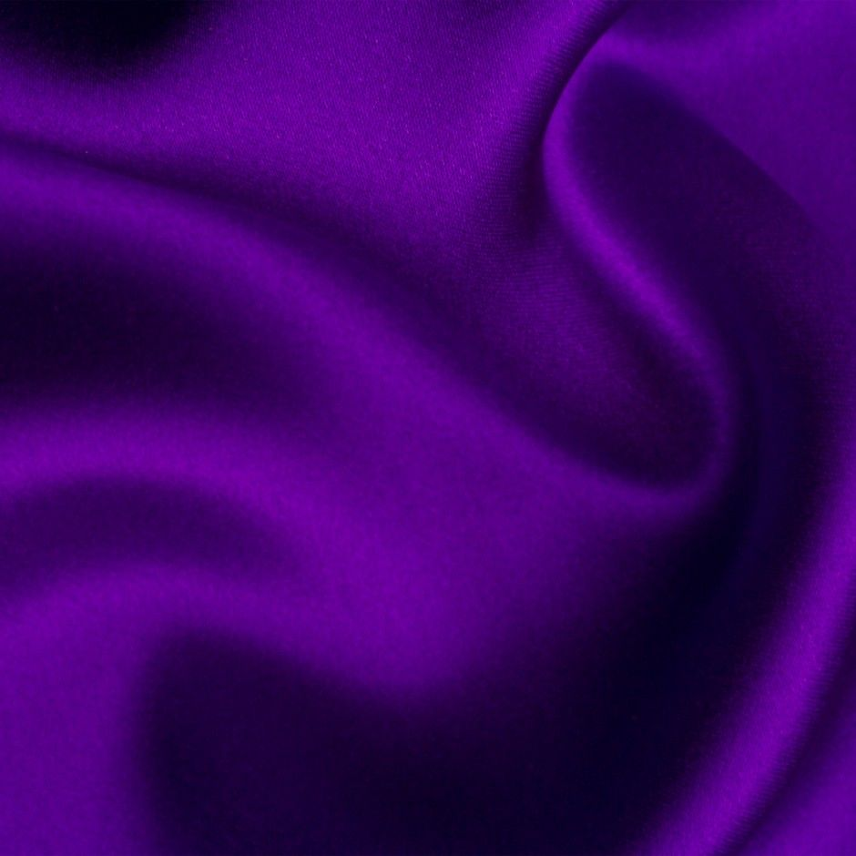 Royal Purple Satin Fabric