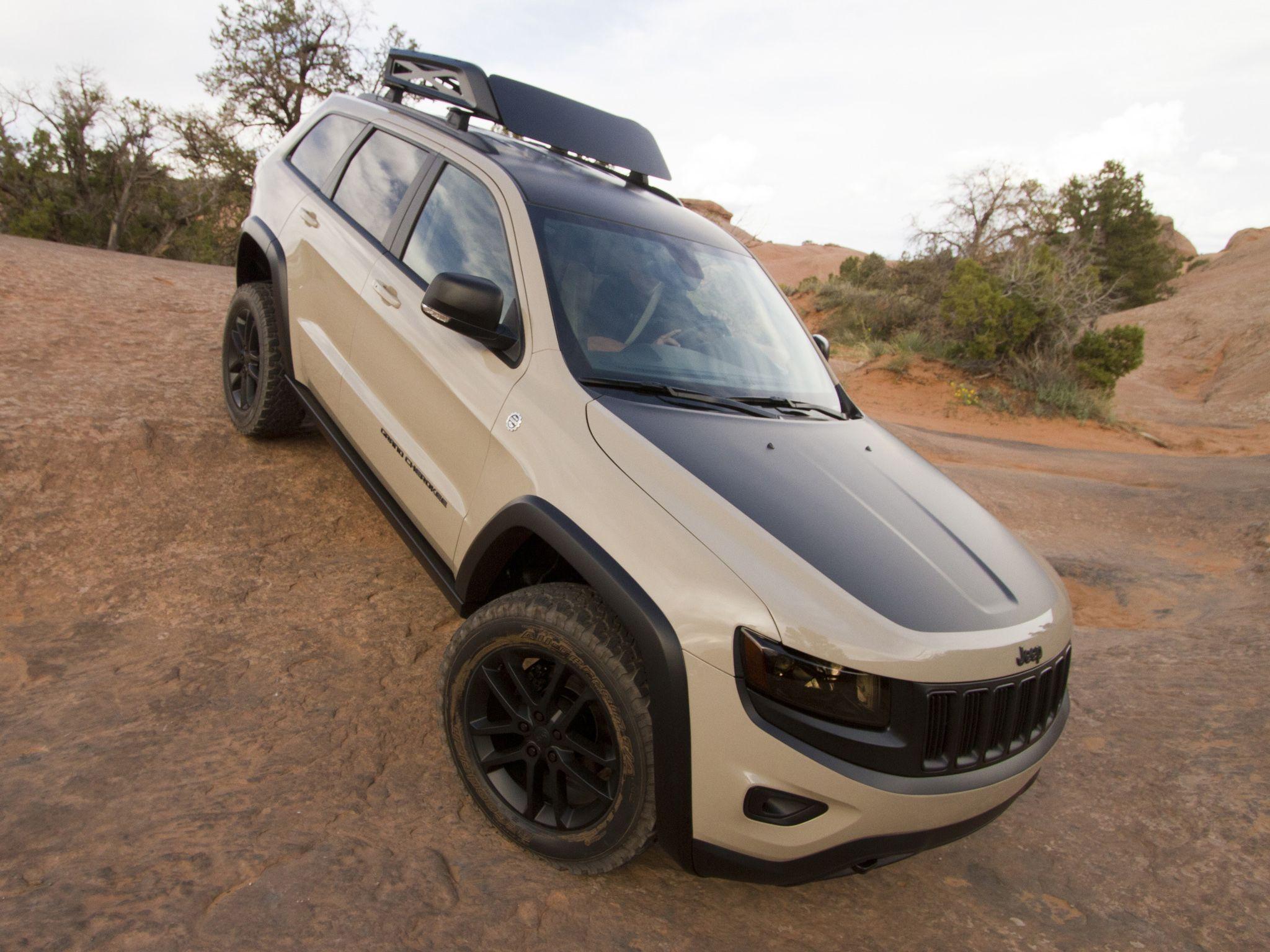 Jeep Grand Cherokee Trail Warrior Concept Wk2 04 2014 Jeep