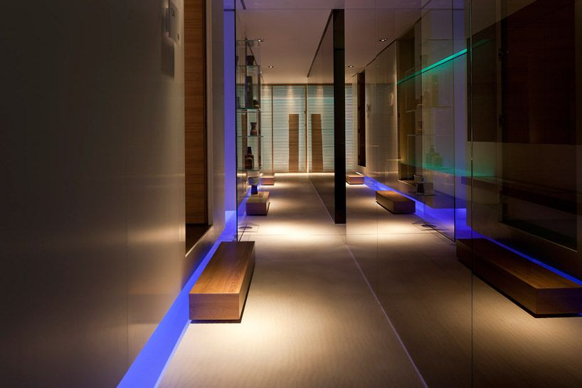 Conservatorium Hotel, Akasha Spa, Amsterdam _ by Italian architect Piero Lissoni _