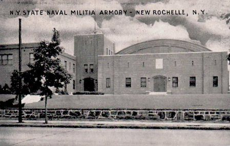 NYS Naval Militia Armory in New Rochelle, NY. The future of this facility is unfortunately still being debated.