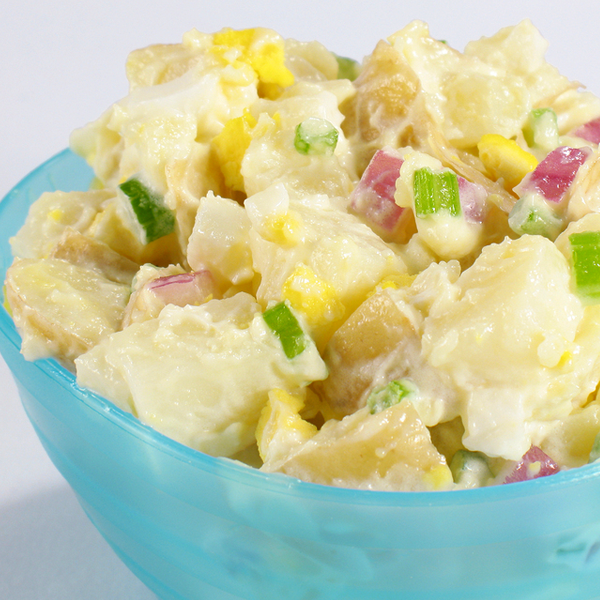 This Is The Best Potato Salad Recipe And Gets So Much Praise Potato Salad Recipe From Grandmother Food Processor Recipes Potatoe Salad Recipe Cooking Recipes