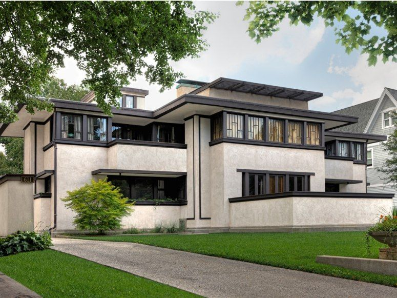 Frank Lloyd Wright's Balch House in Oak Park, Illinois
