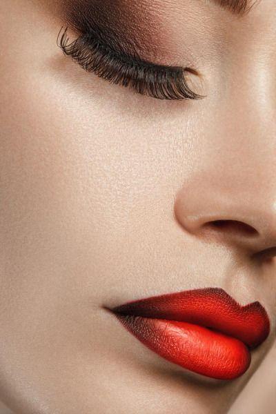 ombre lips | Tumblr