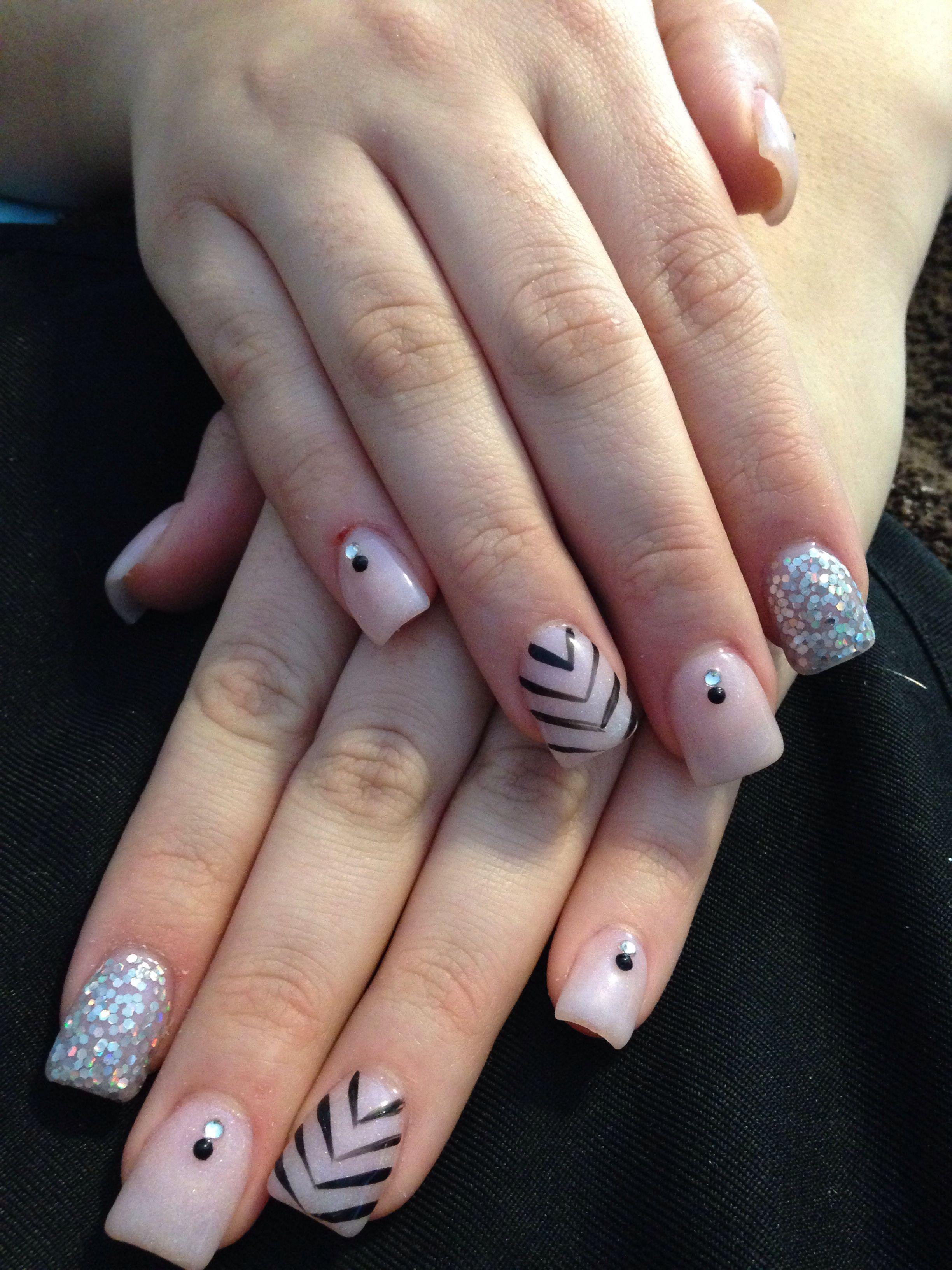 Acrylic nail design | Sara\'s nail designs | Pinterest | Decoración ...