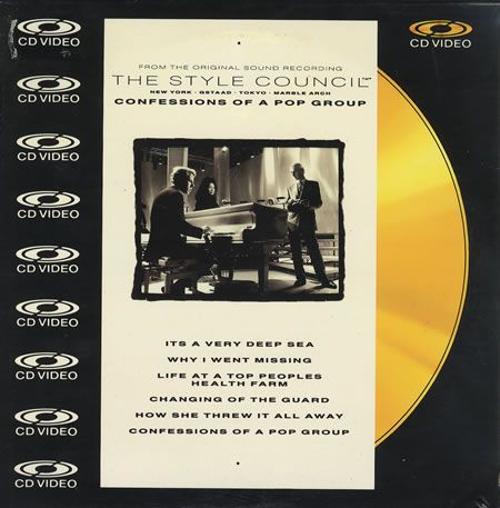 "For Sale - The Style Council Confessions Of A Pop Group - 8"" Cdv UK  CD single (CD5 / 5"") - See this and 250,000 other rare & vintage vinyl records, singles, LPs & CDs at http://eil.com"